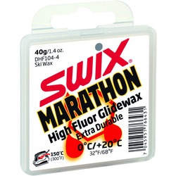 Парафин Swix HF Marathon (+20-0) white 40г
