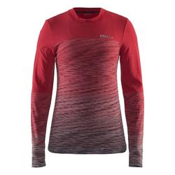 Термобелье Рубашка Craft W Wool Comfort 2.0 женская роз/серый