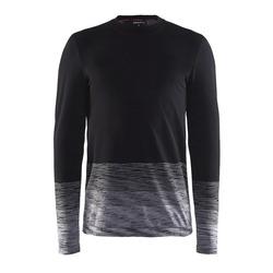 Термобелье Рубашка Craft M Wool Comfort 2.0 мужская черн/серый