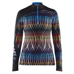 Комбинезон лыжный (Рубашка) Craft Pace XC женская калейдоскоп