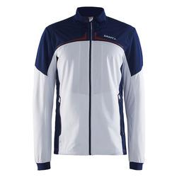 Разминочная куртка Craft M Intensity XC мужская бел/синий