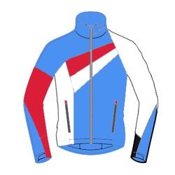 Разминочная куртка Loffler WC мужская синяя