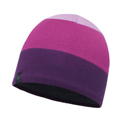 Шапка Buff Knitted&Polar Hat Dalarna Mardi Grape
