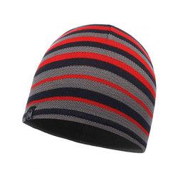 Шапка Buff Knitted&Polar Hat Laki Stripes Gray Pewter