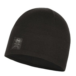 Шапка Buff Knitted&Polar Hat Solid Black