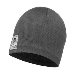 Шапка Buff Knitted&Polar Hat Solid Grey Castlerock