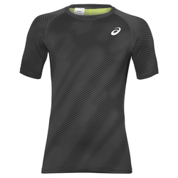 Футболка Asics Baselayer G SS Top муж черн/сер