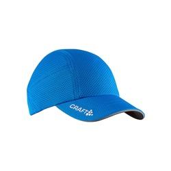 Кепка беговая Craft синий