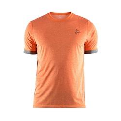 Футболка Craft M Melange SS мужская оранжевый