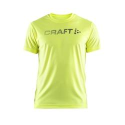Футболка Craft M Prime Run Logo мужская желтый