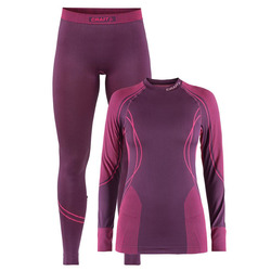 Термобелье Комплект Craft W Seamless Zone женский фиолет/розовый