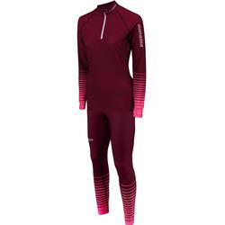 Комбинезон лыжный Noname XC Rasing Suit женский т.розовый
