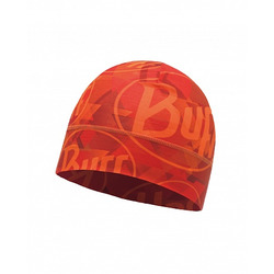 Шапка Buff Microfiber 1 Layer Hat Tip Logo Orange Fluor