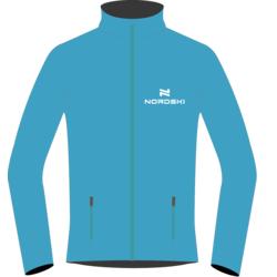 Разминочная куртка W Nordski SoftShell Motion голуб