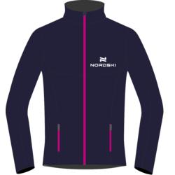 Разминочная куртка NordSki W Motion женская син/розовый