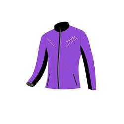Разминочная куртка NordSki W Premium SoftShell женская фиол/черный