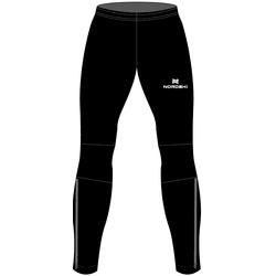 Разминочные штаны на лямках М Nordski Elite черн