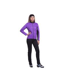 Разминочный костюм NordSki JR Premium SoftShell детский фиол/черный