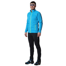 Разминочный костюм NordSki M Motion мужской голуб/черный