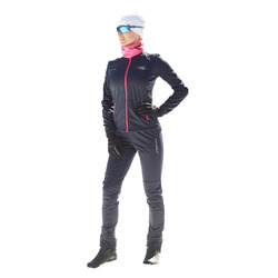 Разминочный костюм NordSki W Motion женский син/розовый