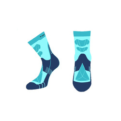 Носки термо NordSki Wool голубой