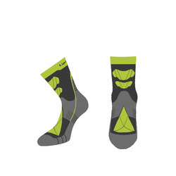 Носки термо NordSki Wool зеленый