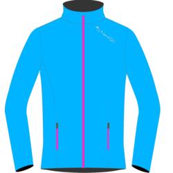 Разминочная куртка W Nordski Gore-Tex Elite синяя