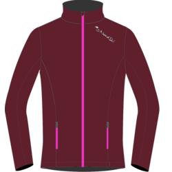 Разминочная куртка NordSki W Elite женская wine