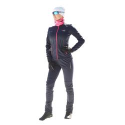 Разминочный костюм NordSki JR Motion детский син/розовый