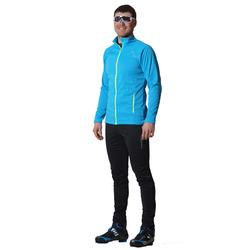 Разминочный костюм NordSki JR Motion детский голуб/черный