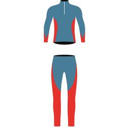 Комбинезон лыжный NordSki JR Active детский син/красный