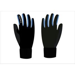 Перчатки NordSki Arctic черн/синий