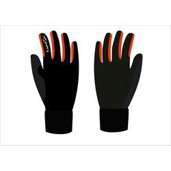 Перчатки NordSki Arctic черн/красный