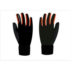 Перчатки NordSki JR Arctic детские черн/красный