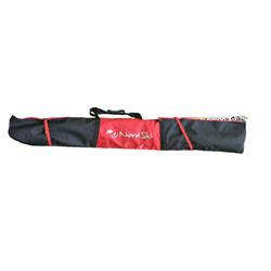 Чехол для лыж Nordski на 3 пары черн/красный