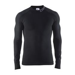 Термобелье Рубашка Craft M Warm Intensity мужская черн/серый
