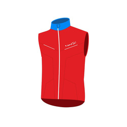 Жилет NordSki JR SoftShell National Red детский