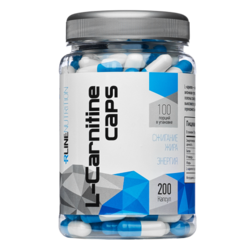 Спортивное питание L-Carnitine RLINE, 200 капсул