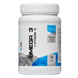 Спортивное питание Omega-3+Vitamin E RLINE, 90 капсул