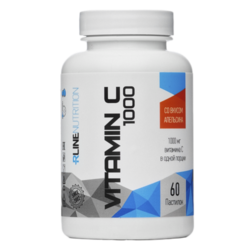 Спортивное питание Vitamin С RLINE, 60 жевательных таблеток