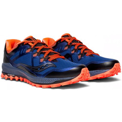 Кроссовки трейловые Saucony Peregrine 8 Blue/Black/VizirRed
