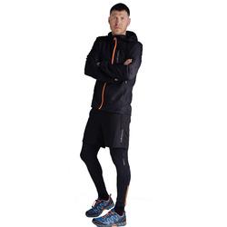 Куртка Тренировочная NordSki M Run мужская Black/Orange