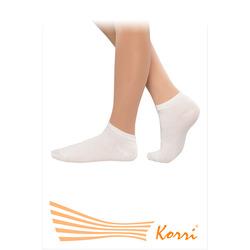 Носки спортивные Korri (детские) х/б, белые, СН-01
