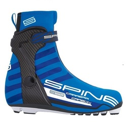 Ботинки лыжные Spine Carrera Carbon Skate Pro NNN (синт)