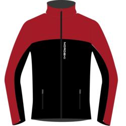 Разминочная куртка NordSki W Active SoftShell женская красн/черный