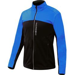 Разминочная куртка NordSki JR Active SoftShell детская син/черный