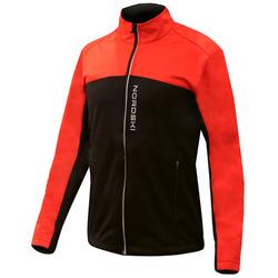 Разминочная куртка NordSki JR Active SoftShell детская красн/черный