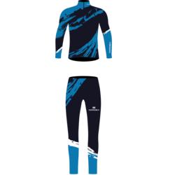 Комбинезон лыжный JR Nordski Premium голубой