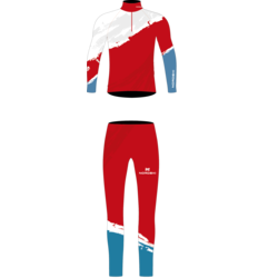 Комбинезон лыжный NordSki JR Premium Rus детский красный