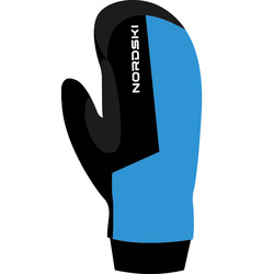 Варежки NordSki Active WS син/черный